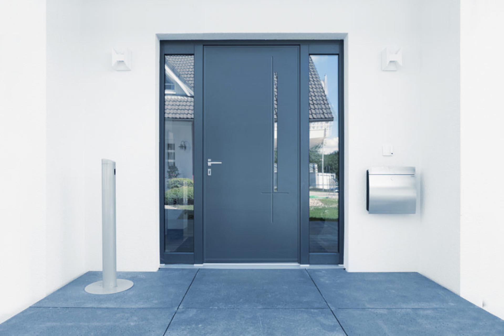 porte d'entrée technal - vitrerie savoyarde